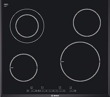 Bosch PIF651T14E hobs Integrado Combi Negro - Placa ...