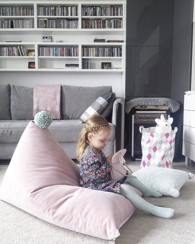 Bohnenbeutelstuhl: Riesige Möbel Bean Bag   Großes Sofa Mit Weicher  Microfaser  Geeignet Für Garten Wohnzimmer Und Schlafzimmer Schwarz , Gray:  Amazon.de: ...