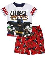 "LEGO Batman Little Boys' ""Batman and Robin "" 2-Pc Pajama Short Set"