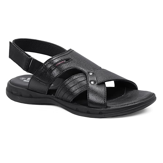 Red Chief Men's Leather Sandals and Floaters Men's Fashion Sandals at amazon