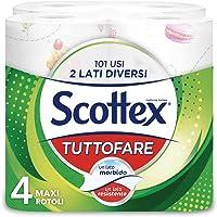 Scottex Tuttofare, Due Lati Diversi, 4 Maxi Rotoli