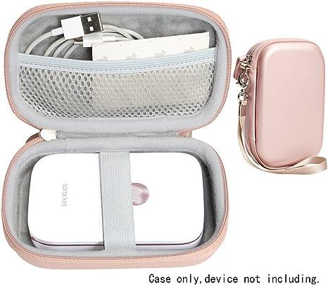 CaseSack Portable Photo Printer Case for HP Sprocket Portable Photo Printer, Polaroid Snap Touch, Zip Mobile Printer, Lifeprint 2x3 Photo and Video ...