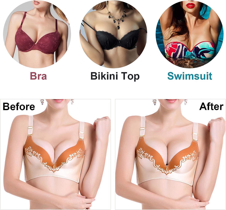 3 Paare weiche Frauen Dreieck BH-Pads Einsätze für Sport-BH-Bikini