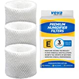 VEVA 3 Pack Premium Humidifier Filters Replacement for HW Filter E, HC-14, HCM-6009, HCM-6011, HEV680, HEV685 Series…