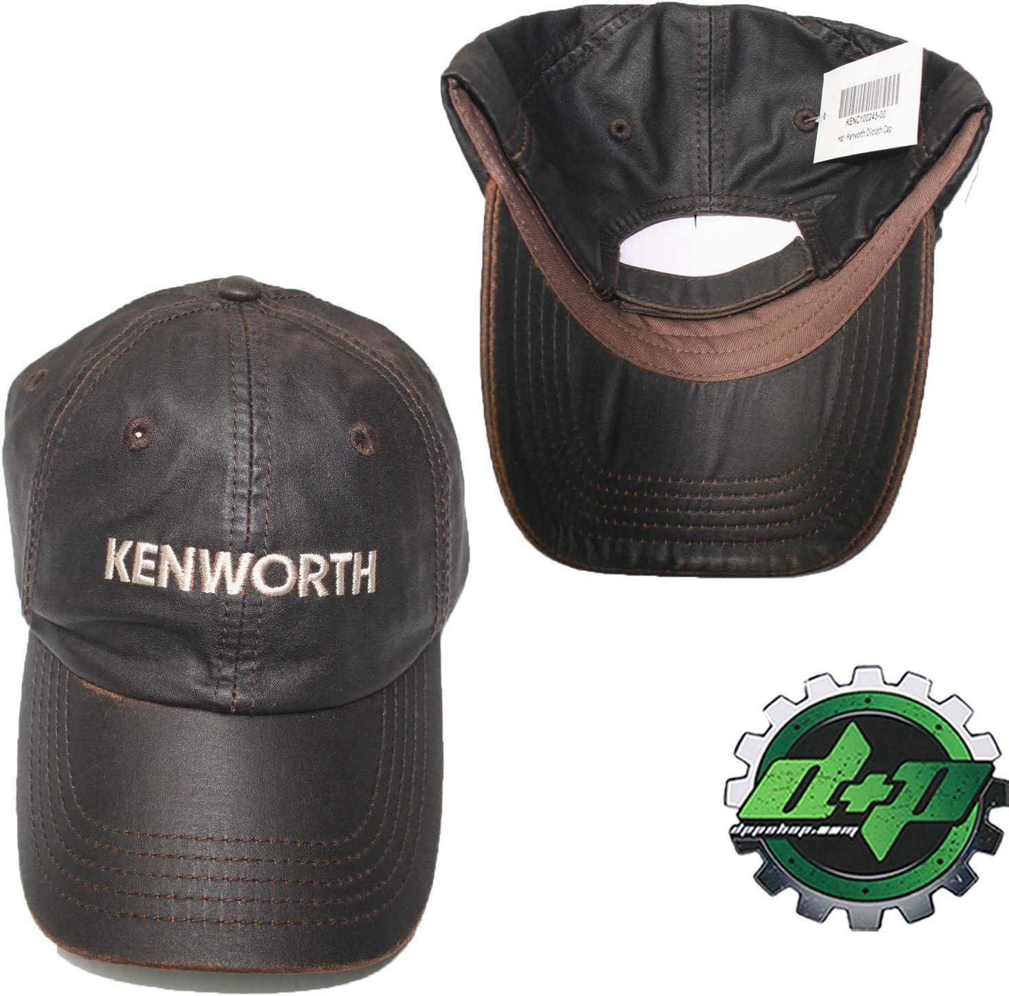 kenworth base ball cap KW tractor semi diesel trucker hat ballcap gear truck new
