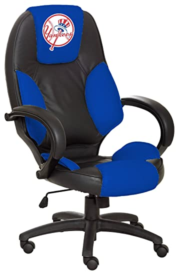 Attractive MLB New York Yankees Leather Office Chair