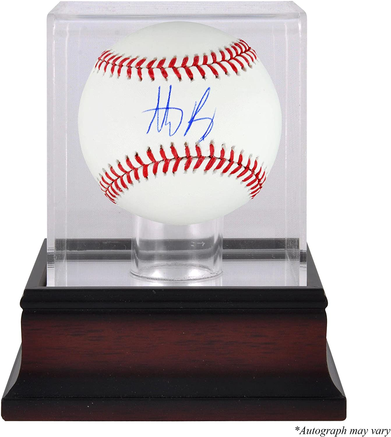 Anthony Rizzo Chicago Cubs Autographed Baseball and Mahogany Baseball Display Case - Fanatics Authentic Certified