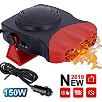 $22 » Car Heater 12V 150W, 3-Outlet Plug in Cigarette Lighter Portable Windscreen Fan with High Power…