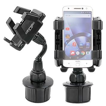 DURAGADGET Soporte Giratorio Para Portavasos Del Coche Para Smartphone Lenovo Moto Z/Moto Z Force/Phablet Lenovo PHAB2/Pro/Plus- ¡Tenga Su Smartphone ...