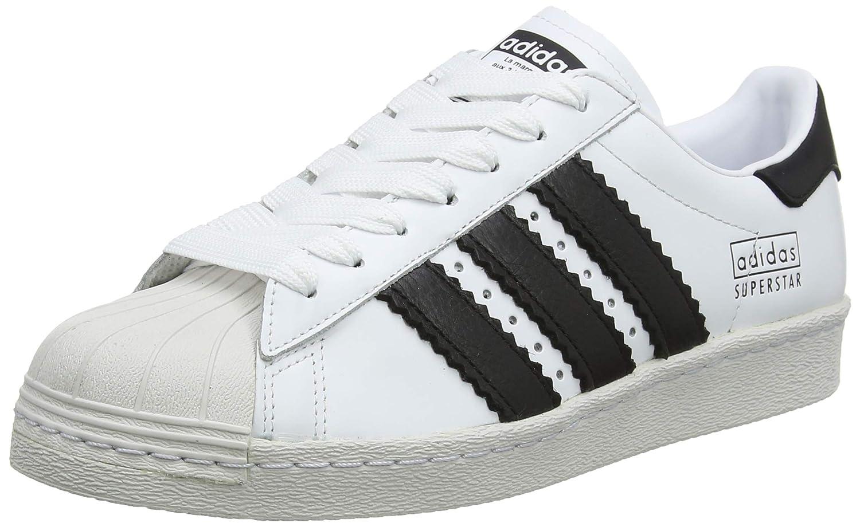 Blanc (Ftw Bla Negbás Balcri 000) adidas Superstar 80s, Chaussures de Fitness Homme 49 1 3 EU