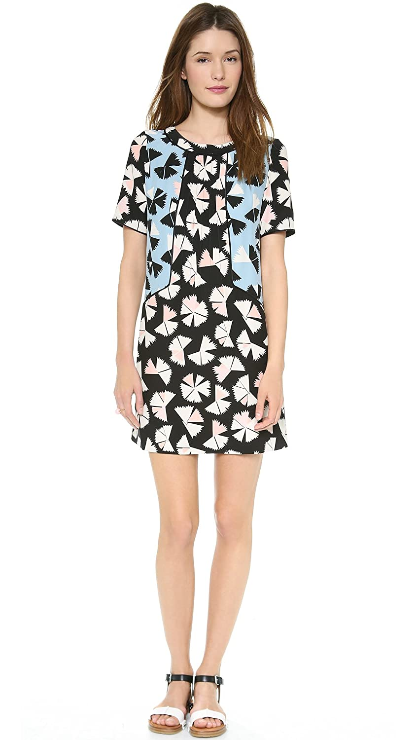 Marc by Marc Jacobs Women's Pinwheel Flower Dress Black Multi 2 M4002229 M4002229_60002-2