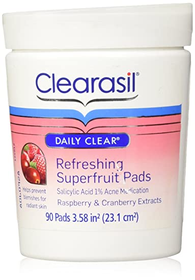 6 Pack Clearasil Daily Clear Refreshing SuperFruit Wash 6.7 Oz Each Clinique - Smart Custom-Repair Moisturizer SPF 15 (Dry Combination Travel Size) - 15ml/0.5oz