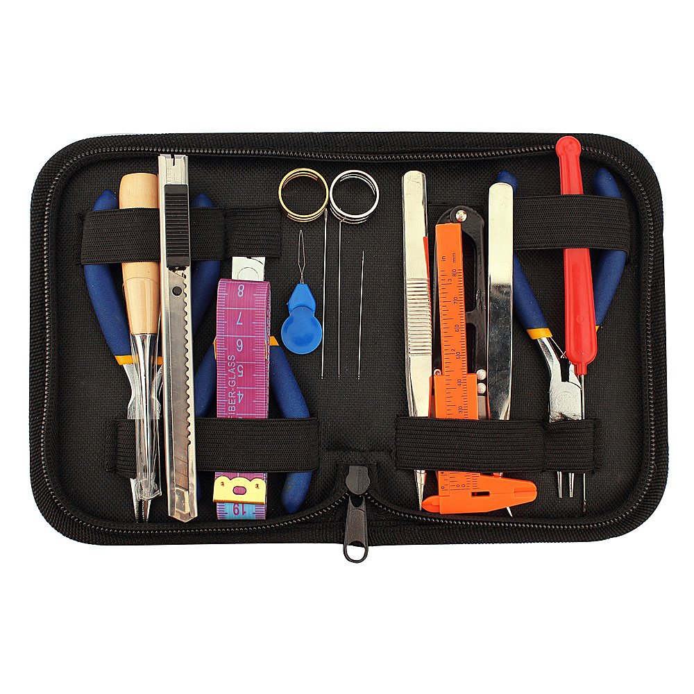 Jewelry Making Tools Kit, Jewelry Making Tools in Zippered Case, 8 Pcs Set LolliBeads DIY616704