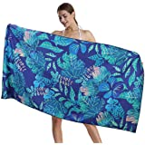 """CHARS Microfiber Quick Drying Beach Towel (30"""" x 60"""") with a Carrying Bag, Super Absorbent Towel, Sand Free Towel, for Kids,"""