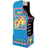 Arcade1Up Ms. Pac-Man 80S Retro Home Arcade Machine, 4 Games In 1, 4 Foot Cabinet with 1 Foot Riser - Electronic Games