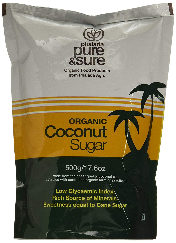 Pure & Sure Organic Coconut Sugar, 500 g