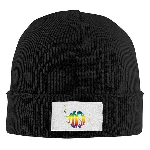 28b2fc4e2b2f4 Amazon.com  NEST-Homer Phish Band Logo Unisex Adult Warm Hat Knit Beanie  Skull Cap  Clothing
