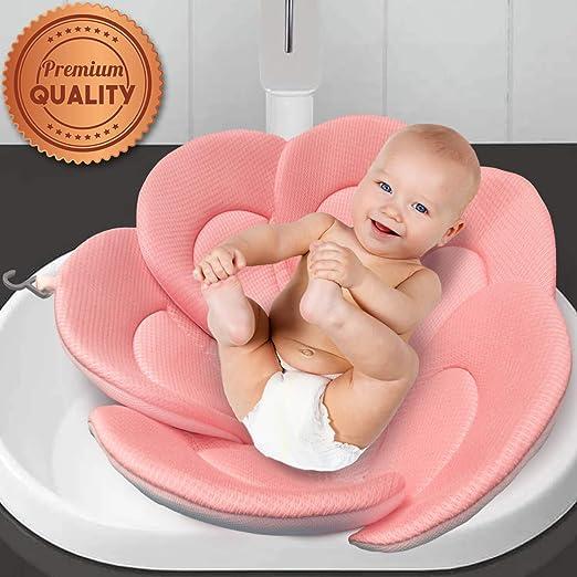 Baby Bath Sponge Mat Non-slip Sponge Mat Cute For Baby Care Bathroom Accessories