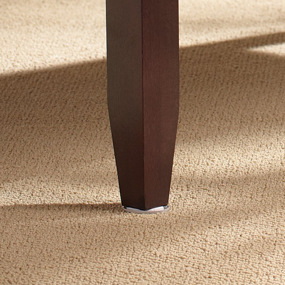 Self-Stick - 1-1//8 Round SuperSliders 4 piece Round Furniture Sliders for Carpeted Surfaces