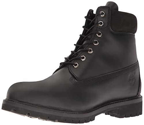 dcf529ccabac Timberland Men s Black Smooth Leather Boots - 11 UK  Buy Online at Low  Prices in India - Amazon.in