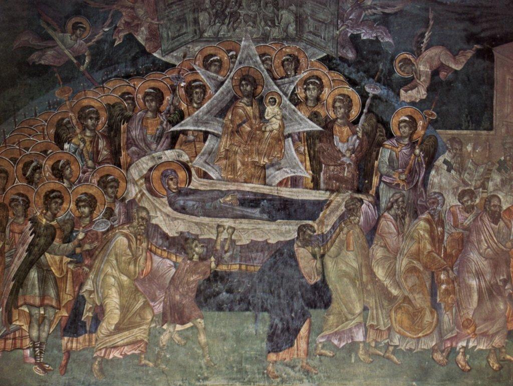 Lais Puzzle Meister von Gracanica Gracanica Gracanica (II) - Fresken in der Kirche von Gracanica, Szene: Tod der Maria 2000 Teile a8b002