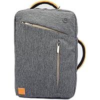 Vangoddy–4en 1Mochila/Maletín//Tote, portafolios para portátil híbrida para Apple iPad Pro 12,9/MacBook Air 33,8cm/MacBook Pro 33,8cm, Gris