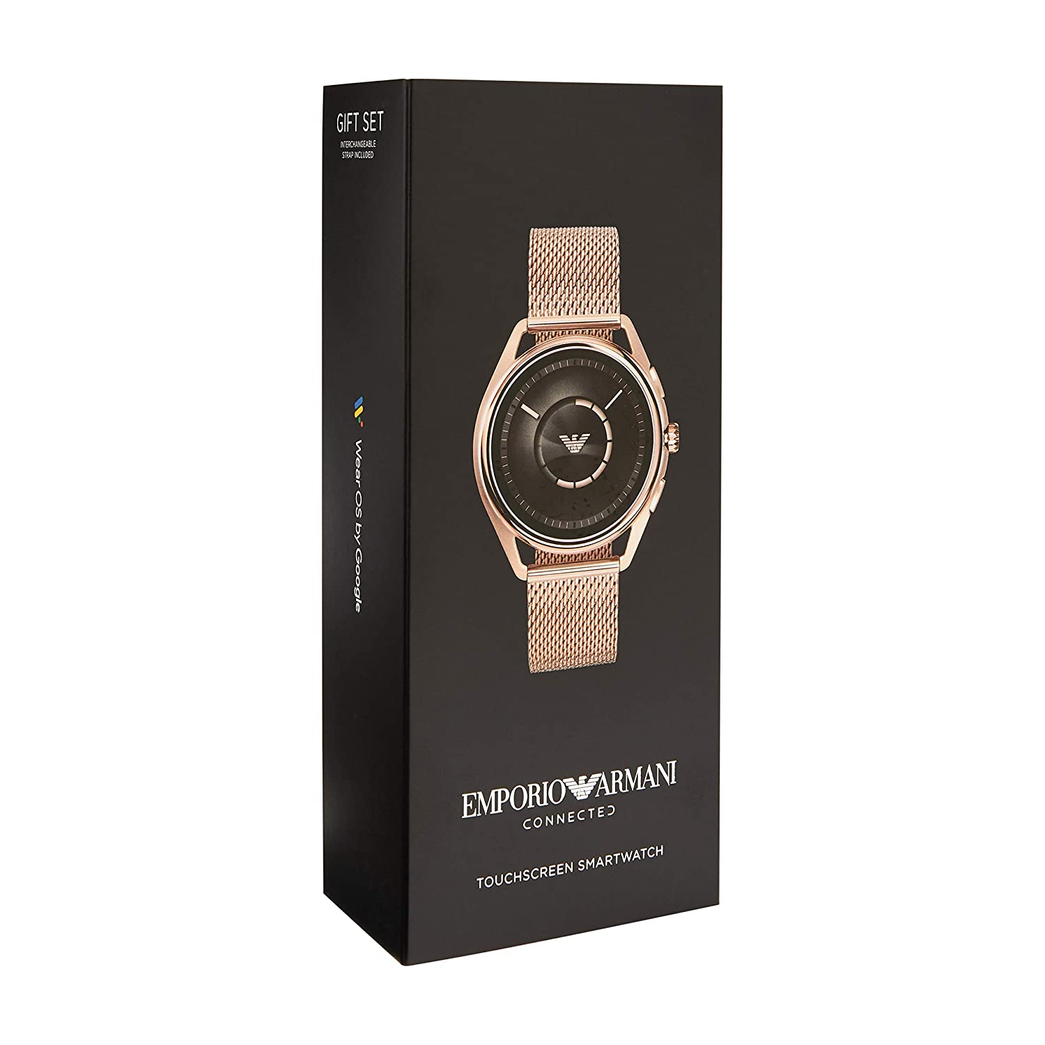 Amazon.com: Emporio Armani Mens Stainless Steel Plated ...