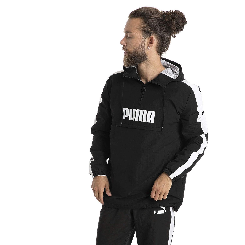 Puma Xxl Para Amazon Chaqueta Black Hombre Deportiva Ropa Y es qrUrwXf