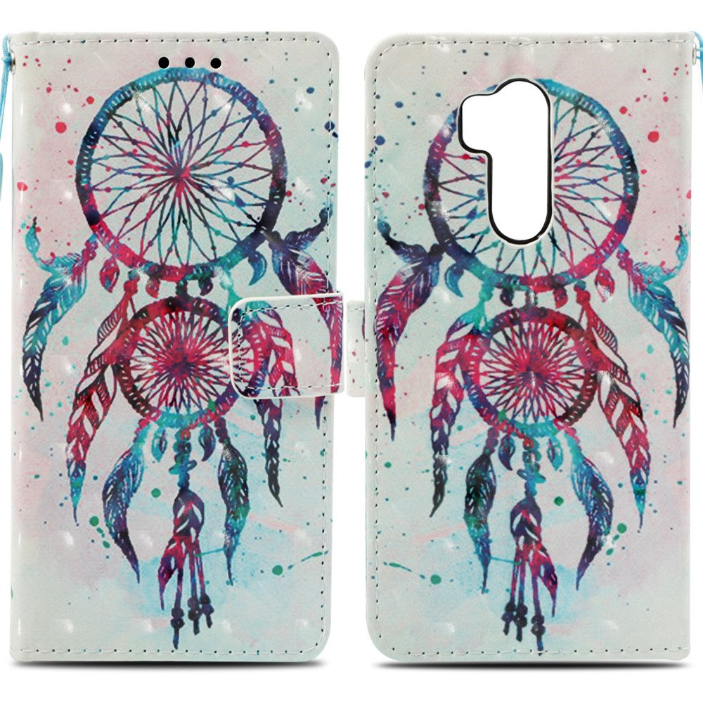 Abtory LG G7 Case, Flip PU [Card Slots Wallet] [Kickstand] Full Body Shock Absorption Protective Phone Case Cover for LG G7(CP06AC2003) by Abtory (Image #4)