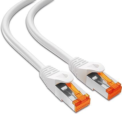 mumbi 3m CAT6 Netzwerkkabel Patchkabel Ethernet Kabel LAN DSL schwarz