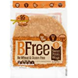 BFree Gluten Free Wheat Free Wrap Tortillas Sweet Potato Vegan Dairy Free (Pack of 2)