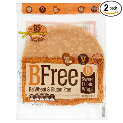 BFree Envoltura sin gluten Tortillas Sweet Potato 8 pulgadas ...