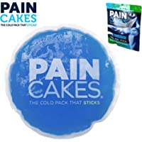 PAINCAKES The Cold Pack That Sticks & Stays in Place - Reusable Cold Therapy Ice Pack Conforms to Body, 1 Large, 5""