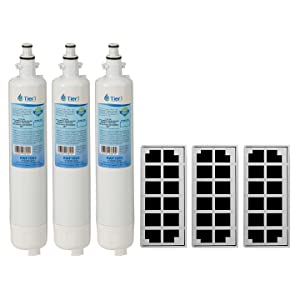 Tier1 Replacement for GE RPWF Water and Odor Refrigerator Filter Combo (NOT for RPWFE) 3 Pack