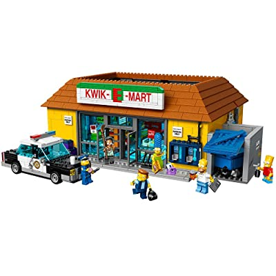 LEGO Simpsons 71016 the Kwik-E-Mart Building Kit: Toys & Games
