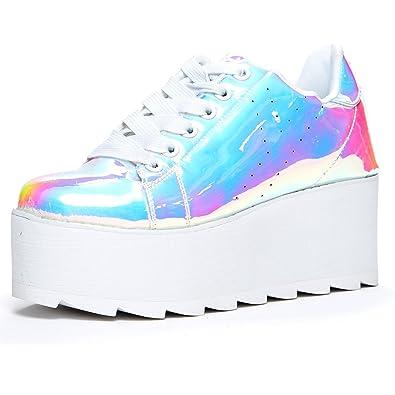 hot sale online 62eb2 1fcac YRU  Lala , Atlantis, Platform holgoram Sneaker, ...
