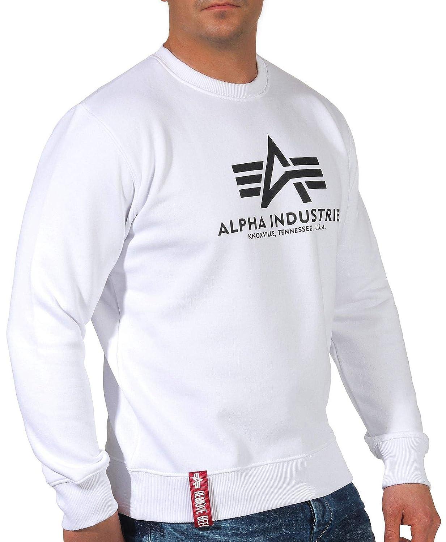Alpha Industries Herren Pullover Basic Sweater B074FSWN41 Pullover eine breite Palette von Produkten