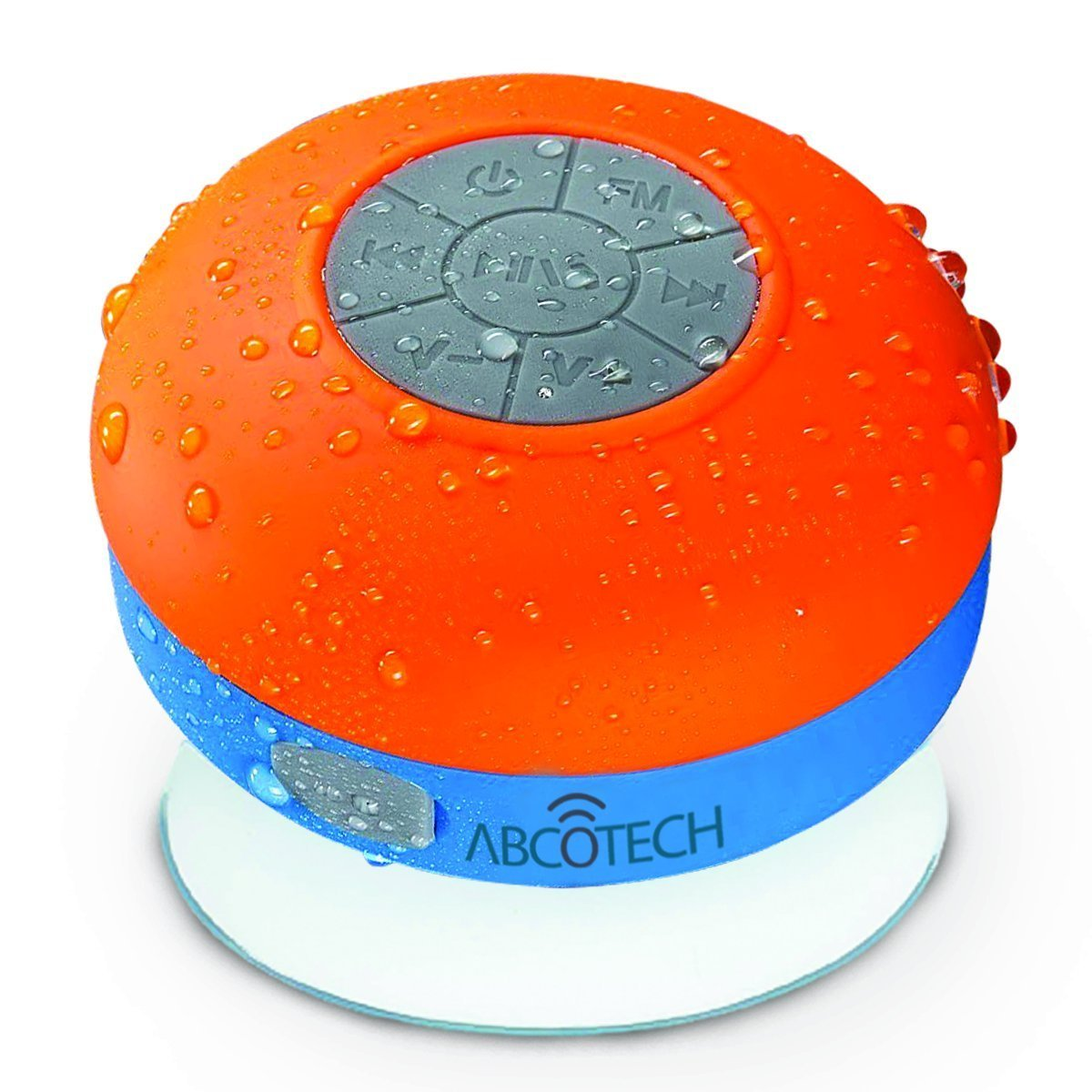Superieur Amazon.com: Bluetooth Shower Speaker U2013 FM RADIO U2013 Water Resistant U2013  Wireless And Hands Free Speaker Phone With Suction Cup U2013 Auto Pairing  Feature ...