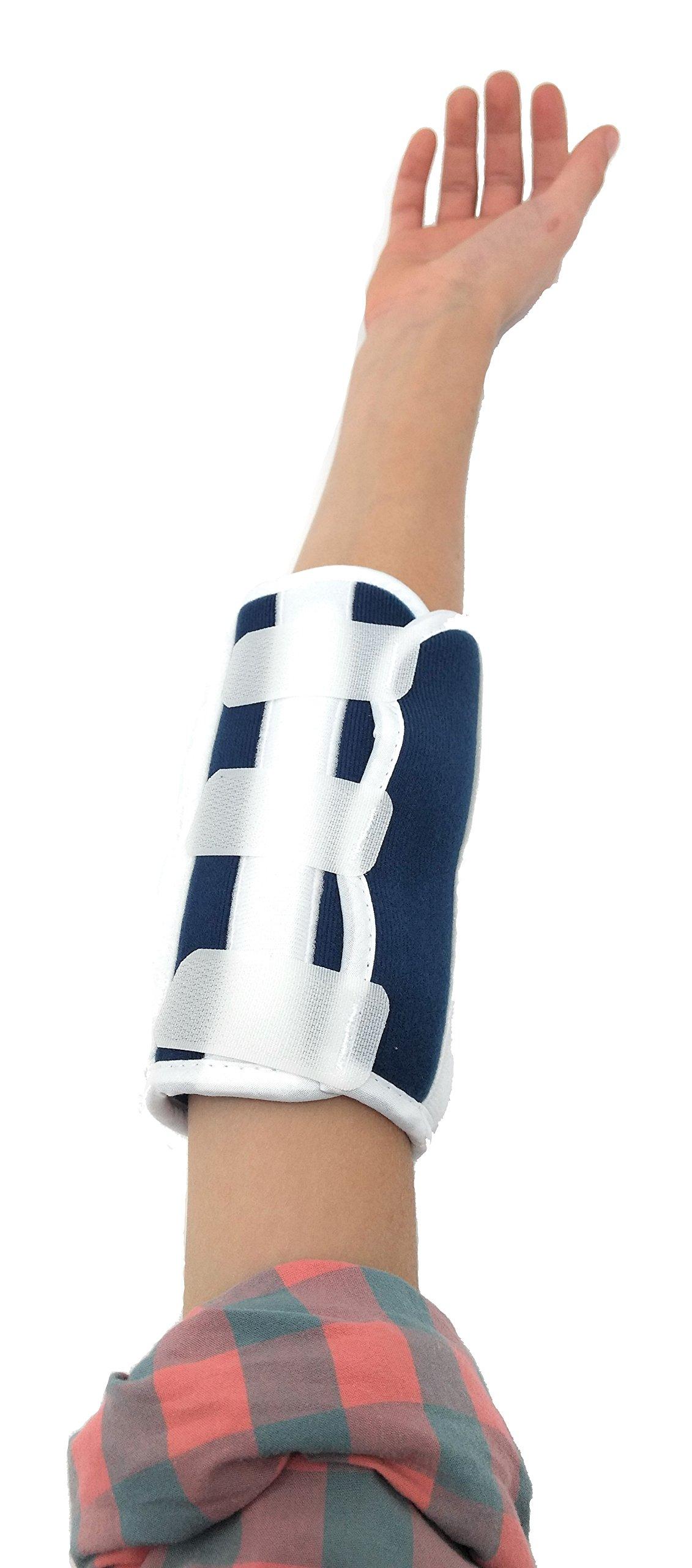 Premium Pediatric Child Elbow Immobilizer Stabilizer Splint/Arm Restraint - Toddler/Kids