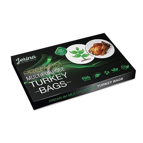 Amazon.com: Jerina Bolsa de Turquía bolsas de horno: bolsas ...