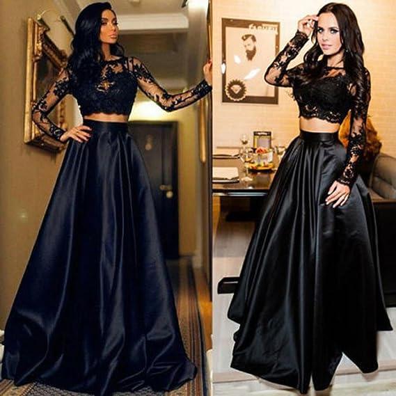 comprar popular 0c2a4 89f1b LILICAT® Vestidos de Fiesta Bodas, Falda Formal Elegante de ...