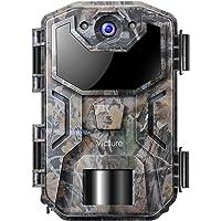 Victure Cámara de Caza Nocturna 20MP 1080P con Diseño Impermeable IP66 Cámara de Fototrampeo con Detección de Acción LED…