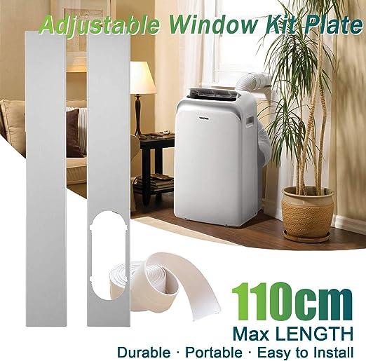 TOPOWN 110cm Placa de Kit de Ventana/Adaptador de Ventana, 2 ...