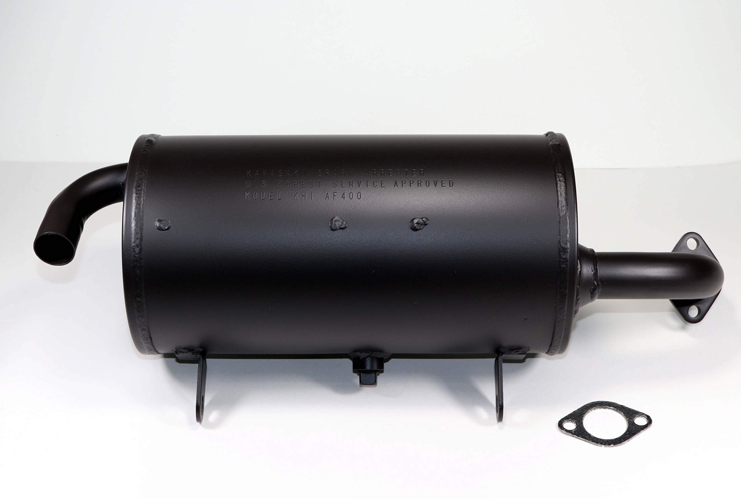 Kawasaki Mule 600/610 NEW OEM Genuine Exhaust Muffler 18091-0235 w/OEM Gasket 11061-0132