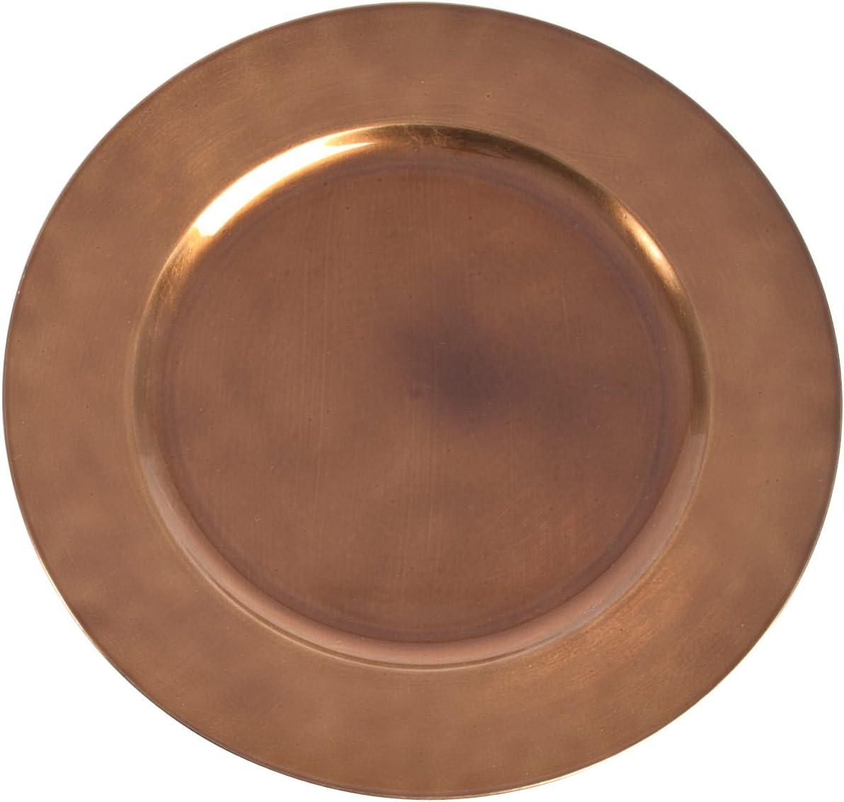 SARO LIFESTYLE Couleurs du Monde Collection Classic Design Charger Plate, 13