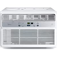Midea Easy 12,000 BTU Window EasyCool Air Conditioner with LCD Remote Control (White)
