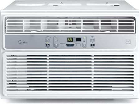 front facing midea maw06r1bwt energy efficient window air Conditioner
