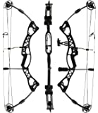 "Blackhawk Compound Bow: LIMBS MADE IN USA | Fully adjustable 26.5-32"" Draw 40-60 LB pull 