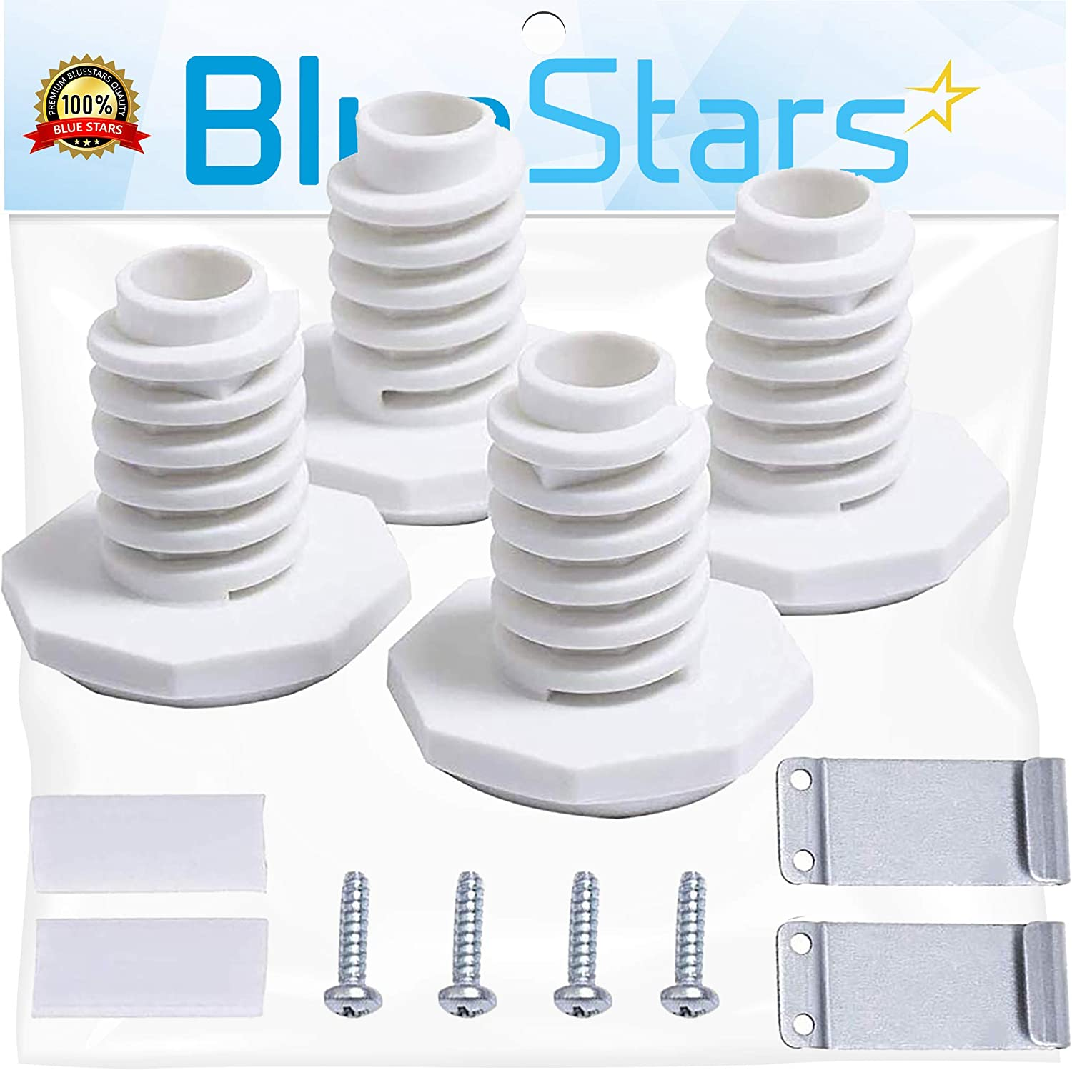 Ultra Durable W10869845 Dryer Stack Kit Replacement by Blue Stars – Exact Fit For Whirlpool Standard & Long Vent Dryers - Replaces W10298318 W10761316 W10298318RP AP6047938 PS3407625