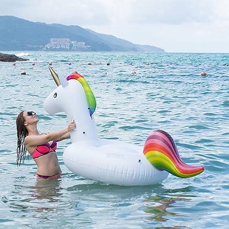 GTT Flotador de piscina unicornio / Unicorn Swim Ring / Unicorn ...